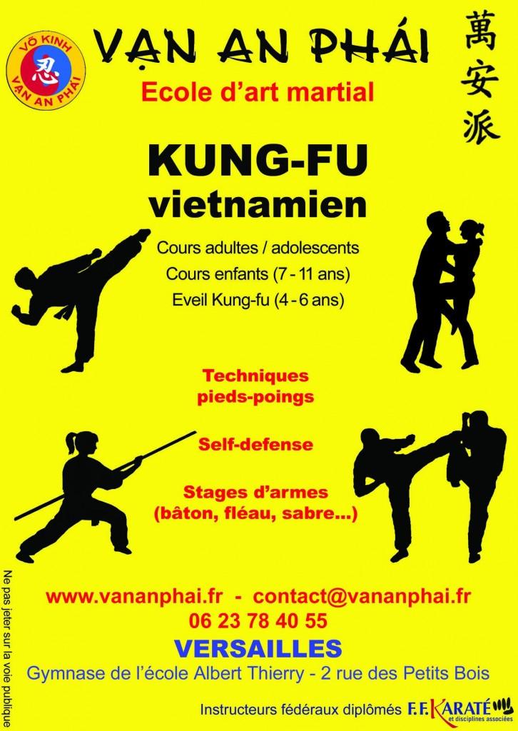 Kung Fu vietnamien VO KINH VAN AN PHAI