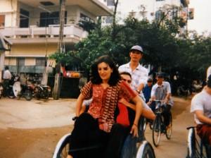 Géraldine Dom cyclos
