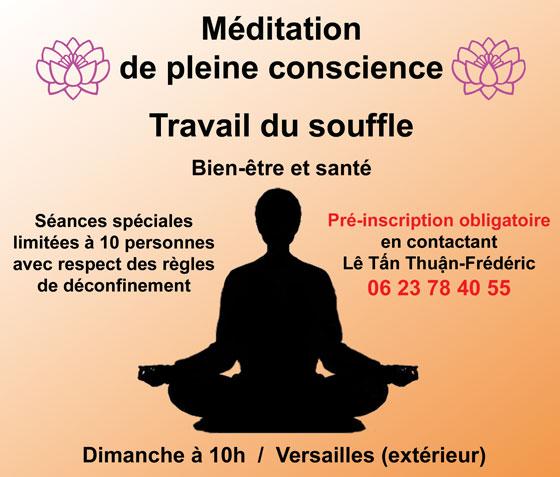 Méditation - Khi Công - Versailles
