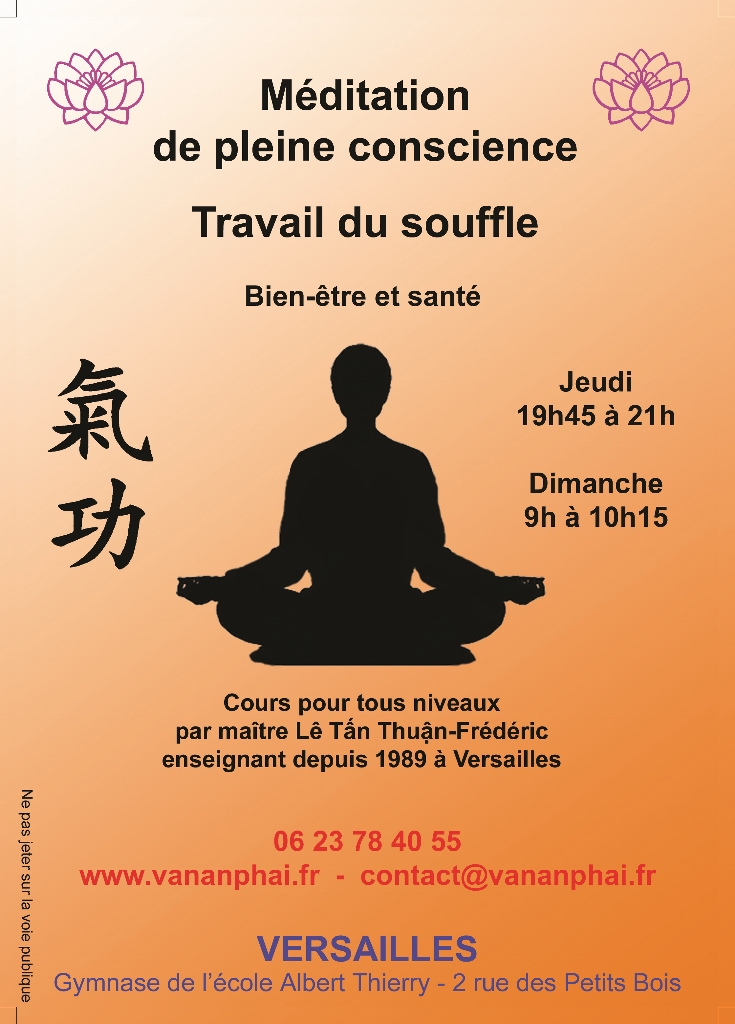 Méditation Khi Công Qi Gong Versailles