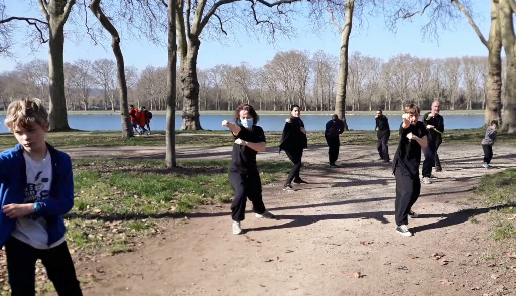 O KINH VAN AN PHAI - Kung Fu vietnamien - Versailles
